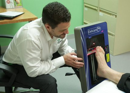 Aaron scanner - 2-for-1 Breakthrough for Orthotic Wearers