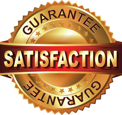 Satisfaction Guarantee - Customer Satisfaction Guarantee