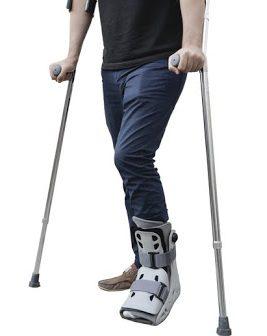 aircast crutches