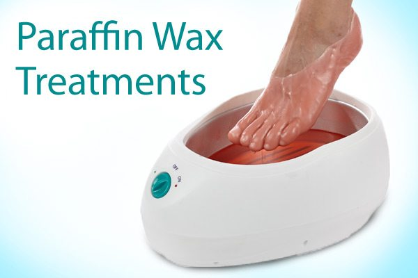 image of paraffin wax treatment