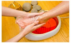 paraffin wax foot treatment 2