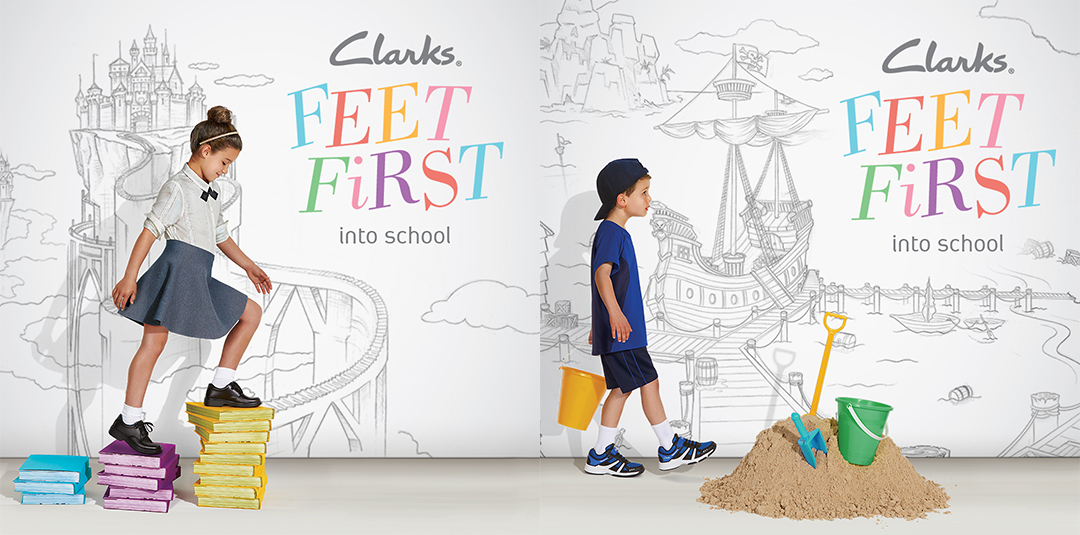 Clarks Back to School Feet First - 50% Off Back-to-School Podiatry Assessments!